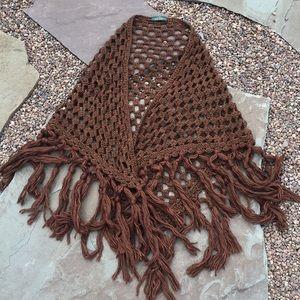 Crocheted shrug / wrap